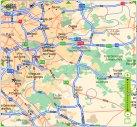 Situation géographique du site par rapport à Paris