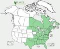 carte de répartition aux USA